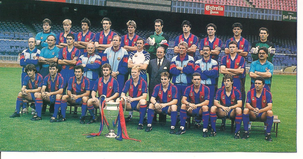 Johan Cruyff con el Dream Team